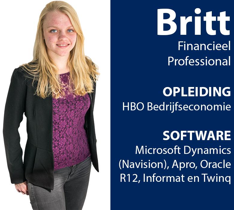 britt financieel medewerker beschikbaar