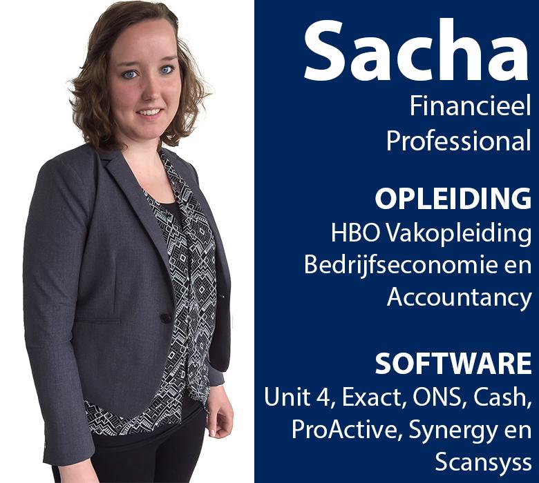 sacha financieel medewerker beschikbaar